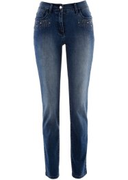 Jeans mit Applikation, bpc selection premium, blue stone