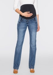 Umstandsjeans, Bootcut, bpc bonprix collection, blue stone