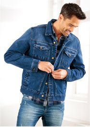 Stretch-Jeansjacke Regular Fit, John Baner JEANSWEAR, dunkelblau