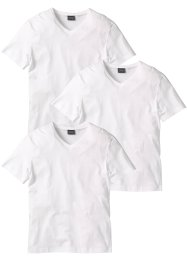 T-Shirt mit V-Ausschnitt (3er Pack), bpc bonprix collection