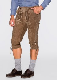 Kniebund-Lederhose Regular Fit, bpc selection, oliv