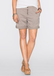 Chino-Shorts, RAINBOW, grau