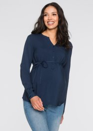 Umstandsbluse, bpc bonprix collection, dunkelblau