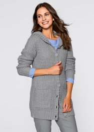 Kapuzen-Strickjacke, bpc bonprix collection