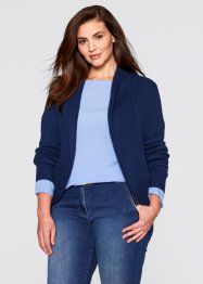 Strickjacke, bpc bonprix collection, pistazie