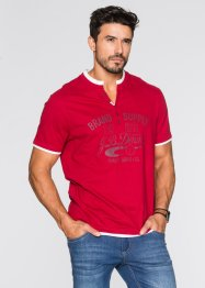 Henley-Shirt Regular Fit, John Baner JEANSWEAR, schiefergrau
