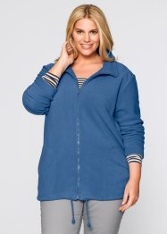 Fleecejacke, bpc bonprix collection, graublau