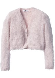 Flauschiger Cardigan, bpc bonprix collection, hellrosa