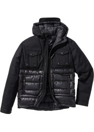 Jacke Regular Fit, bpc bonprix collection, schwarz
