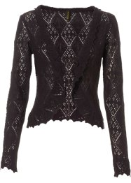 Strickjacke, BODYFLIRT boutique, schwarz