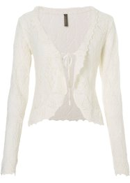 Strickjacke, BODYFLIRT boutique, weiss