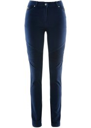 Stretchjeans in Used-Optik, bpc selection, dunkelblau