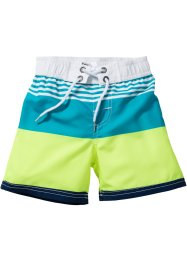 Badeshorts Jungen, bpc bonprix collection, blau gestreift