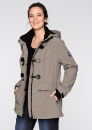 Duffle-Softshelljacke, bpc bonprix collection, taupe