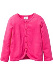 Shirtjacke, bpc bonprix collection, dunkelpink