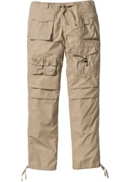 Cargohose Loose Fit, bpc bonprix collection, beige