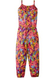 Jumpsuit, bpc bonprix collection, dunkelfuchsia geblümt
