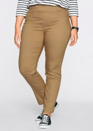 Schmale Superstretch-Schlupfhose, bpc bonprix collection, eiskaffee