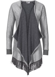Sweatjacke in Strickoptik, bpc bonprix collection