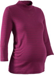 3/4-Arm-Umstandsshirt mit Mini-Turtleneck, bpc bonprix collection