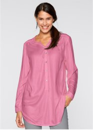 Leichte Flanell-Bluse, bpc bonprix collection, mattpink