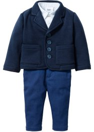 Baby Sakko + Hemd + Hose (3-tlg. Set), bpc bonprix collection