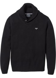 Pullover Regular Fit, bpc selection, schwarz