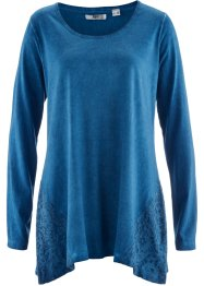 Cold-dyed-Shirt-Tunika, bpc bonprix collection, atlantikblau used