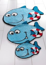 "Badematte ""Shark"", bpc living, blau"