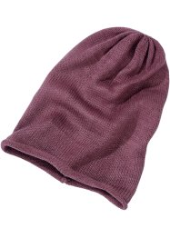Beanie, bpc bonprix collection, dunkelrose