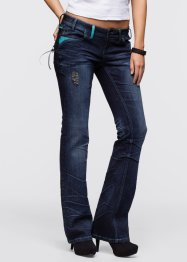 Jeans im Used-Look, RAINBOW, dark denim