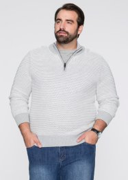 Troyer Pullover Regular Fit, bpc selection