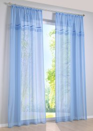 "Gardine ""New Port"" (1er-Pack), bpc living, blau"