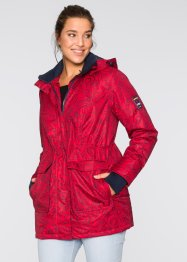 Funktions-Outdoorjacke, bpc bonprix collection, dunkelrot/dunkelblau