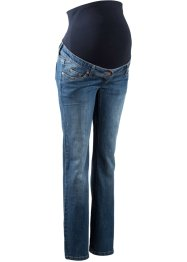 Umstandsjeans mit weitem Bein, bpc bonprix collection, blue stone