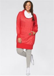 Sweatkleid, bpc bonprix collection, schiefergrau meliert