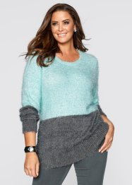 Pullover, bpc selection, wollweiß/zartrosa