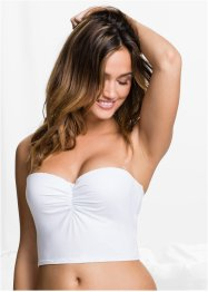 Bandeau-Top, bpc bonprix collection, weiß