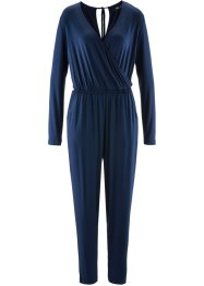 Knöchellanger Jumpsuit, bpc bonprix collection, dunkelblau