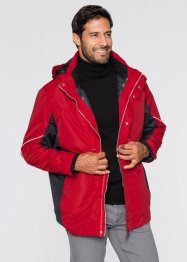 3-in-1 Funktionsjacke im Regular Fit, bpc selection, dunkelrot/dunkelanthrazit