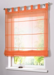 Faltrollo »Uni Voile«, bpc living, orange