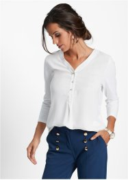 Shirtbluse, bpc selection, weiß