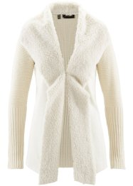 Strickjacke mit Fellimitat, bpc selection