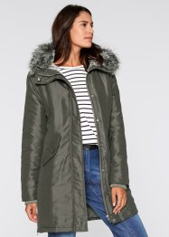 Parka mit kuscheligem Fellimitat innen, bpc bonprix collection