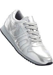 Sneaker, bpc bonprix collection, silber glitzer