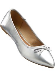 Lackballerina, bpc bonprix collection, silber