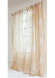 "Gardine ""Palais"" (1er-Pack), Home Collection, beige"