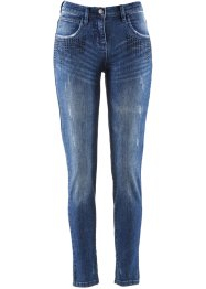 Stretchjeans mit Glitzersteinen, bpc selection, blue stone