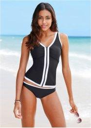 Tankini, bpc bonprix collection, schwarz
