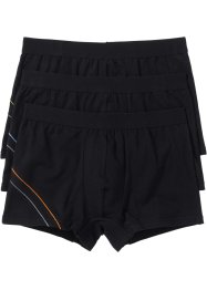 Boxer (3er-Pack), bpc bonprix collection, schwarz